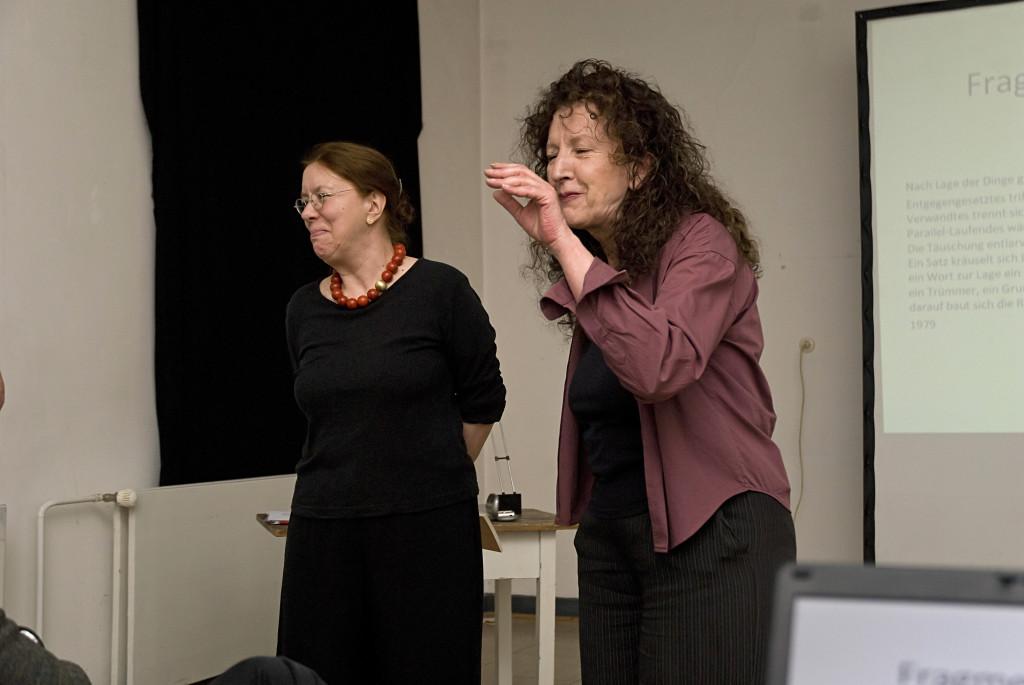 Einführung von Angelika Janz und Doris Schöttler-Boll gemeinsam