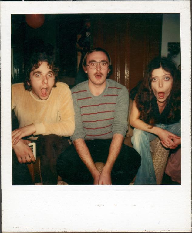 Bianca, Roger und ich (von rechts nach links), 1980