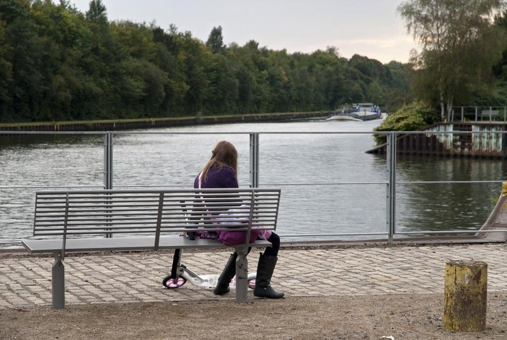 Blick zum Rhein-Herne-Kanal