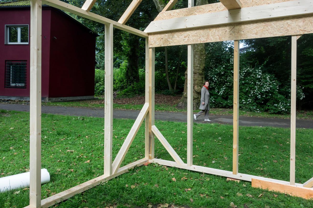 Unterkonstruktion aus Holz