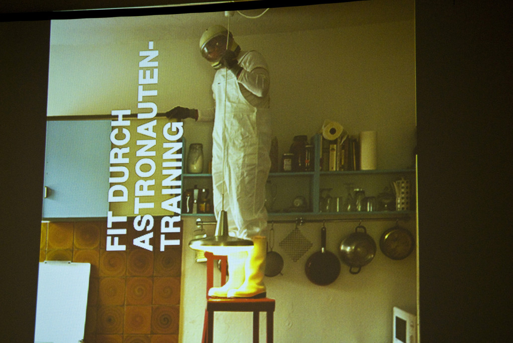 """Matthias Schamp: """"Fit durch Astronauten-Training"""", 2009"""