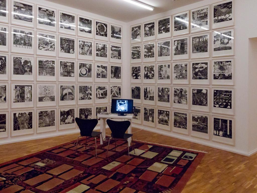 Heinz Emigholz, Der schwarze Block, 2010