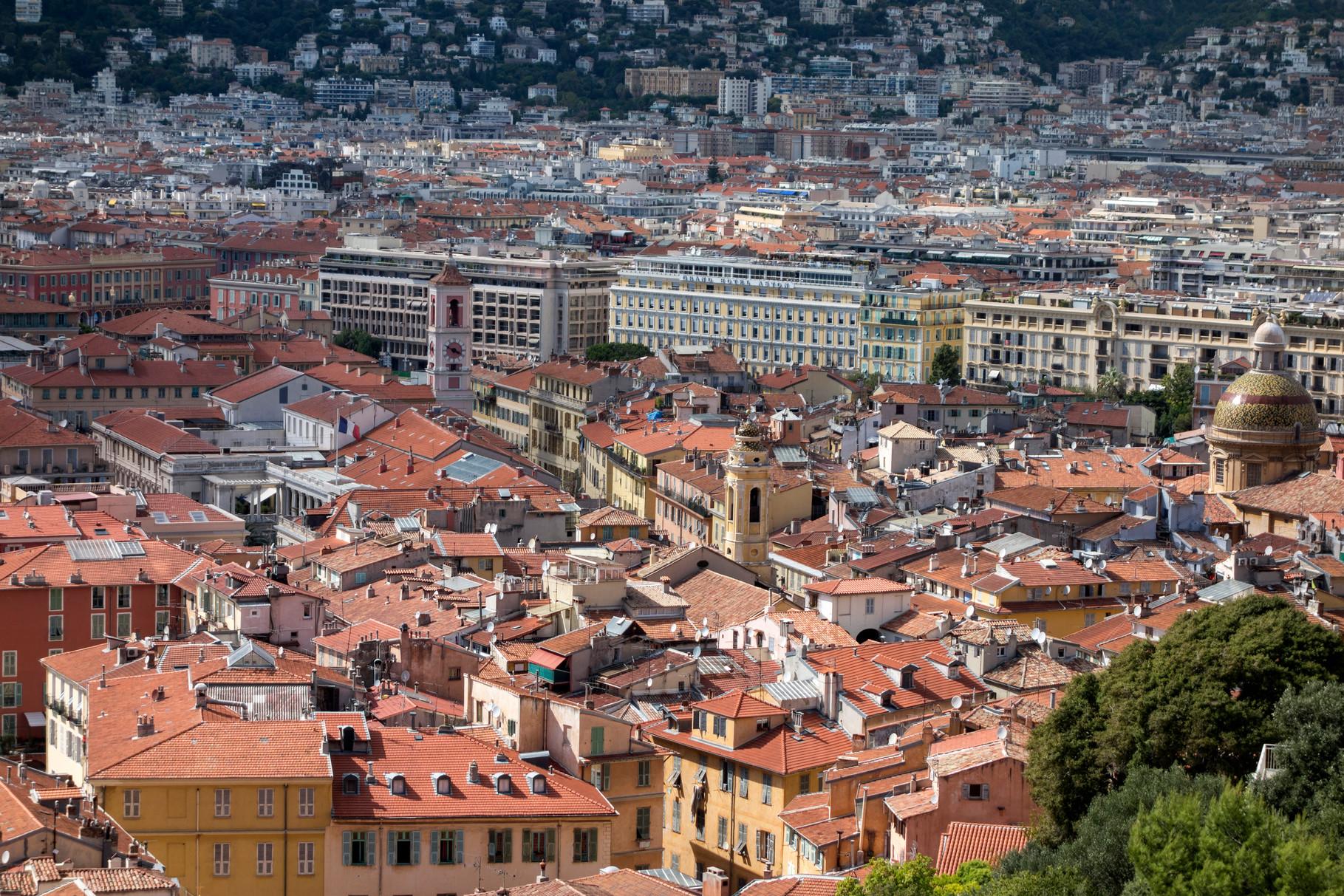 Blick auf Altstadt und Neustadt