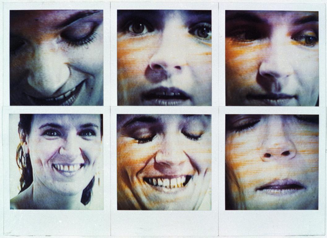 Polaroidtableau Beate, 1987