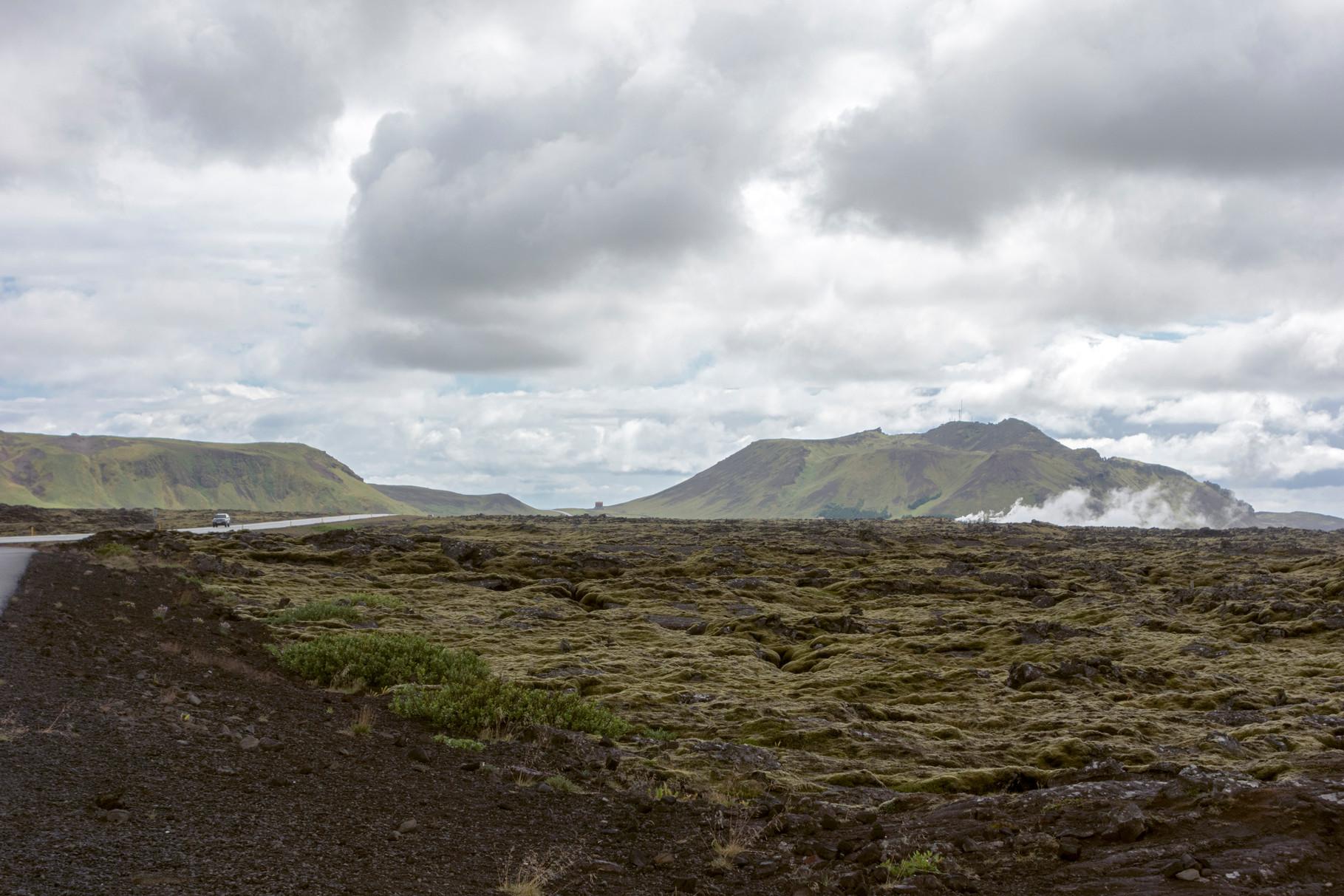 Thermalgebiet auf der Halbinsel Reykjanes
