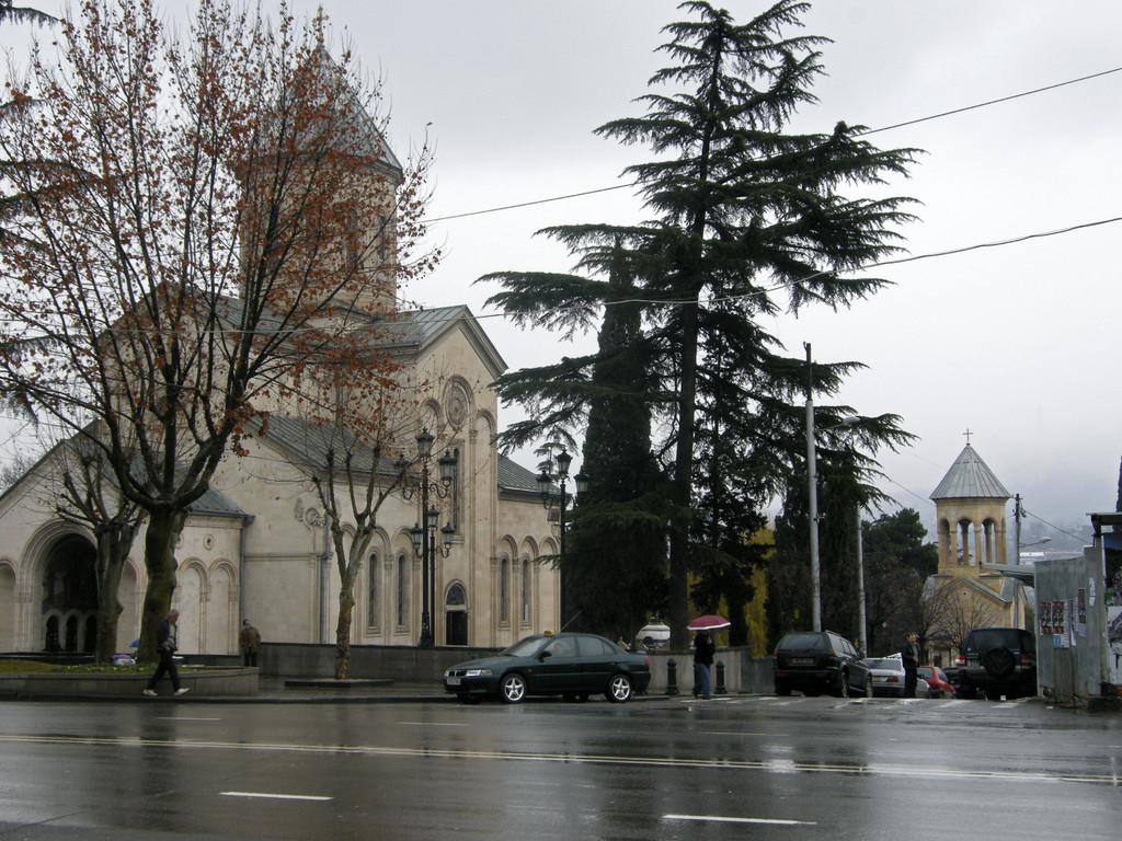 Kashveti Kirche am Rustaveli Boulevard
