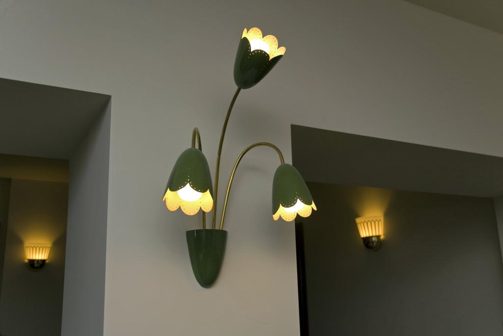 Original-Lampe aus den 50er Jahren