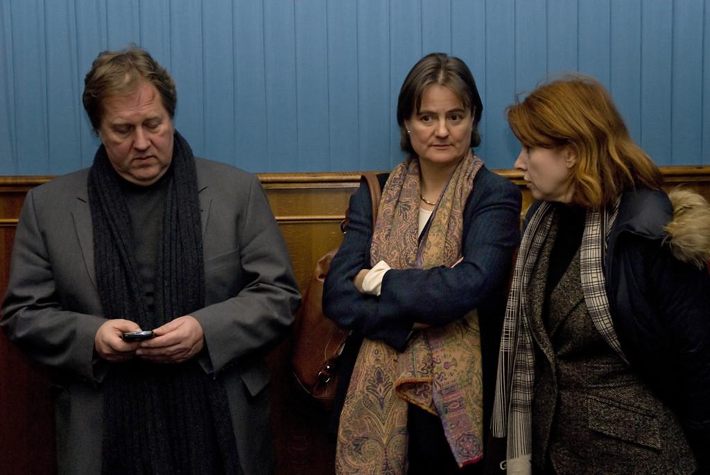 Dieter Gorny und Frau Droste-Deselaers von der Filmstiftung