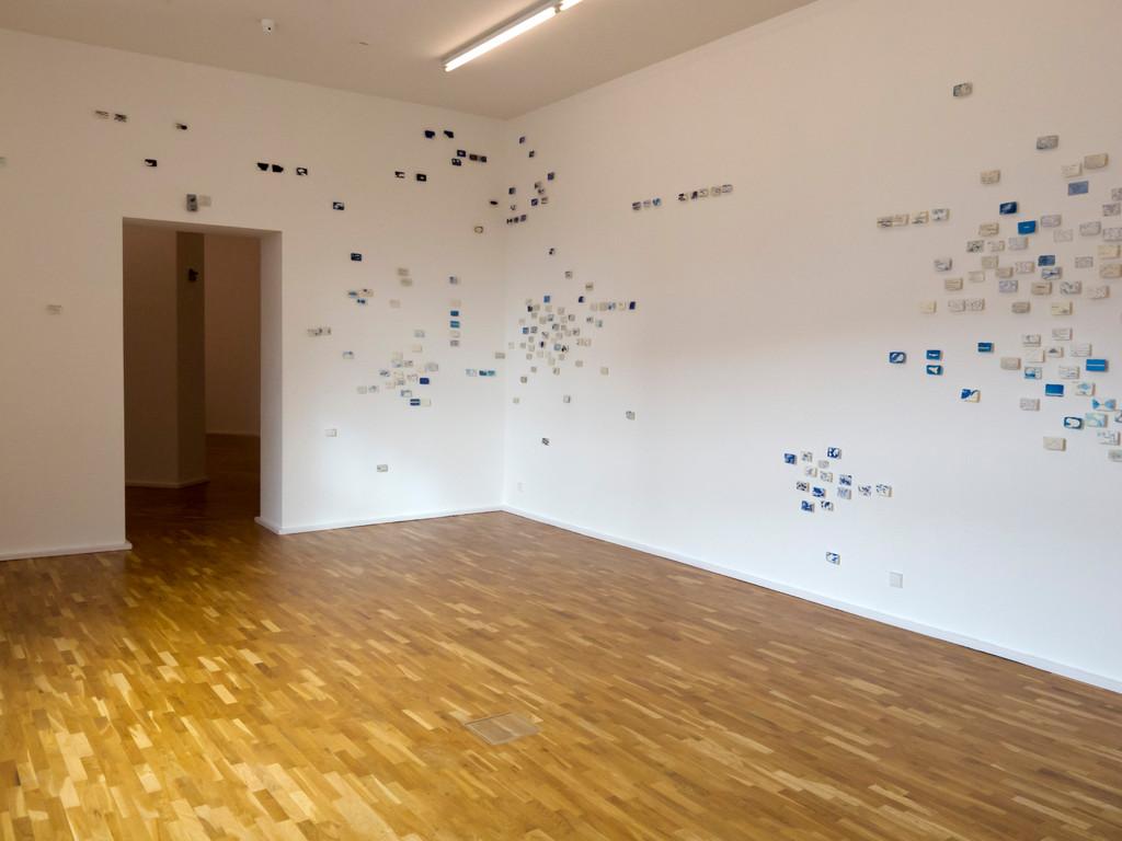 Nanne Meyer, leicht bewölkt, Blick in den Ausstellungsraum