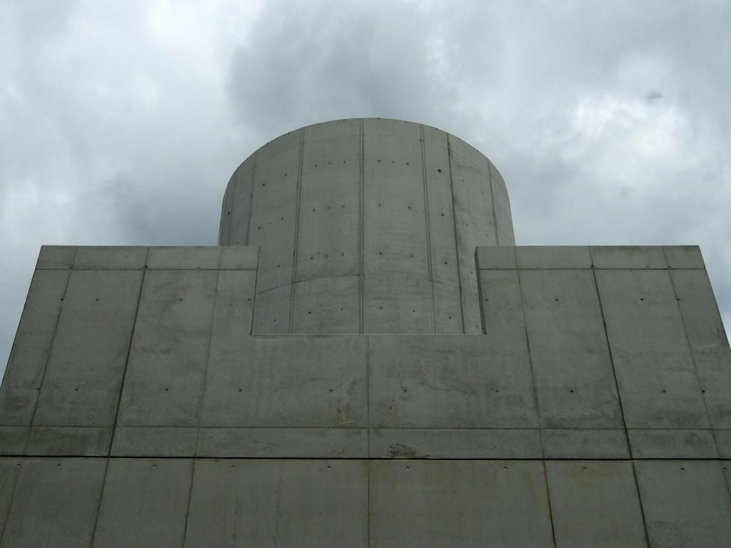James Turrell: Third Breath, 2005 Außenansicht des Gebäudes