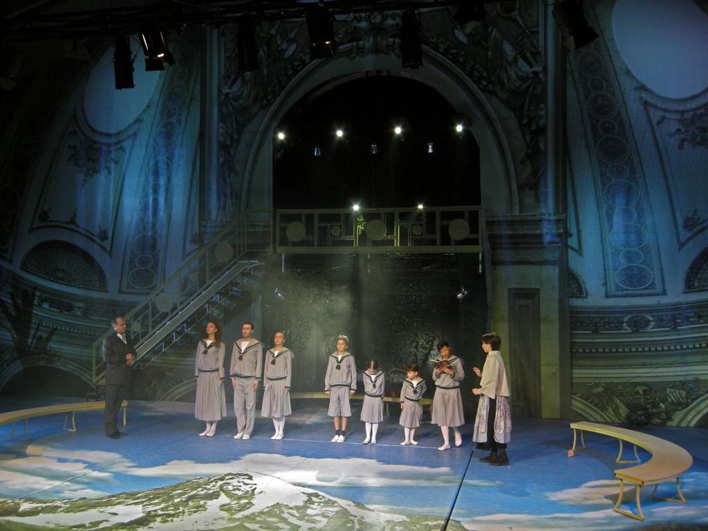 """Probe des Stücks """"The Sound of Music"""" im Tbilisi Vaso Abdashidze Music and Drama State Theatre"""