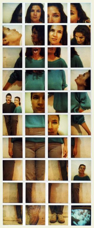 Polaroidtableau Beate, 1986