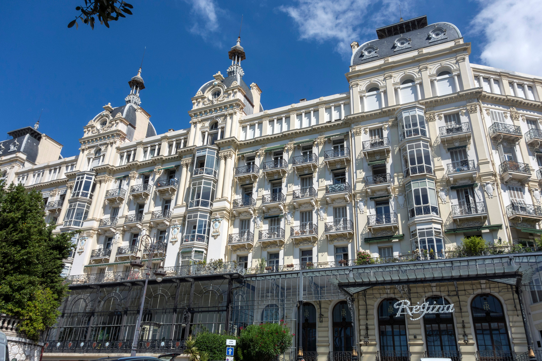 Palais Régina am Boulevard de Cimiez