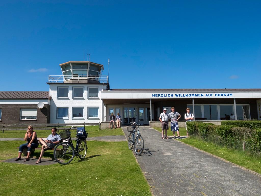 Flugplatz Borkum