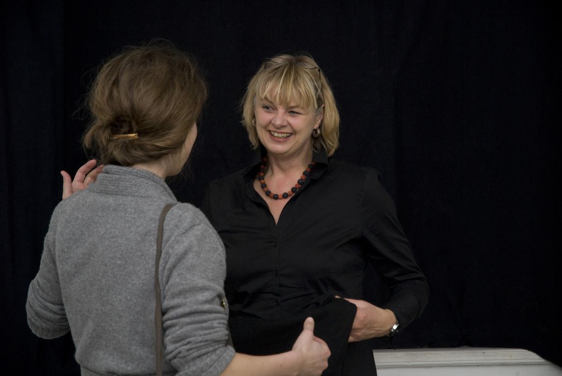 Leonie Baumann (Geschäftsführerin der Neuen Gesellschaft für Bildende Kunst, Berlin - NGBK), 2008