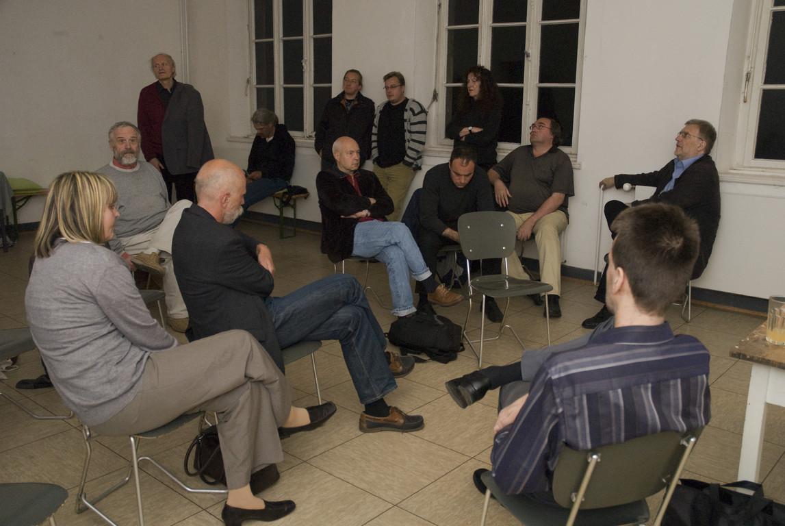 Diskussion zum Hecken-Vortrag