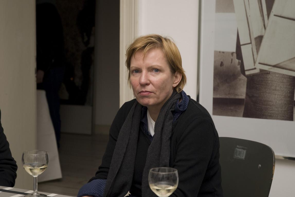 """Eva Schmidt, Vortrag """"Die radikale konkrete Begründung der ästhetischen Form im Werk von Charlotte Posenenske"""", 2009"""