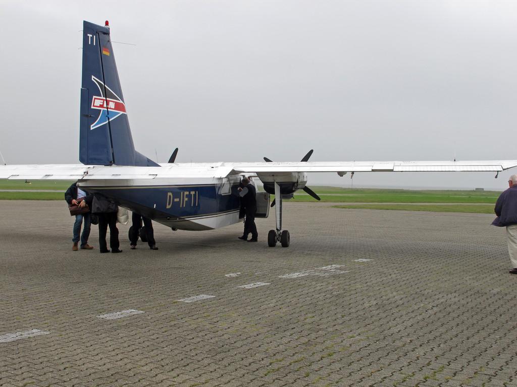 Tagesaus-Flug nach Helgoland