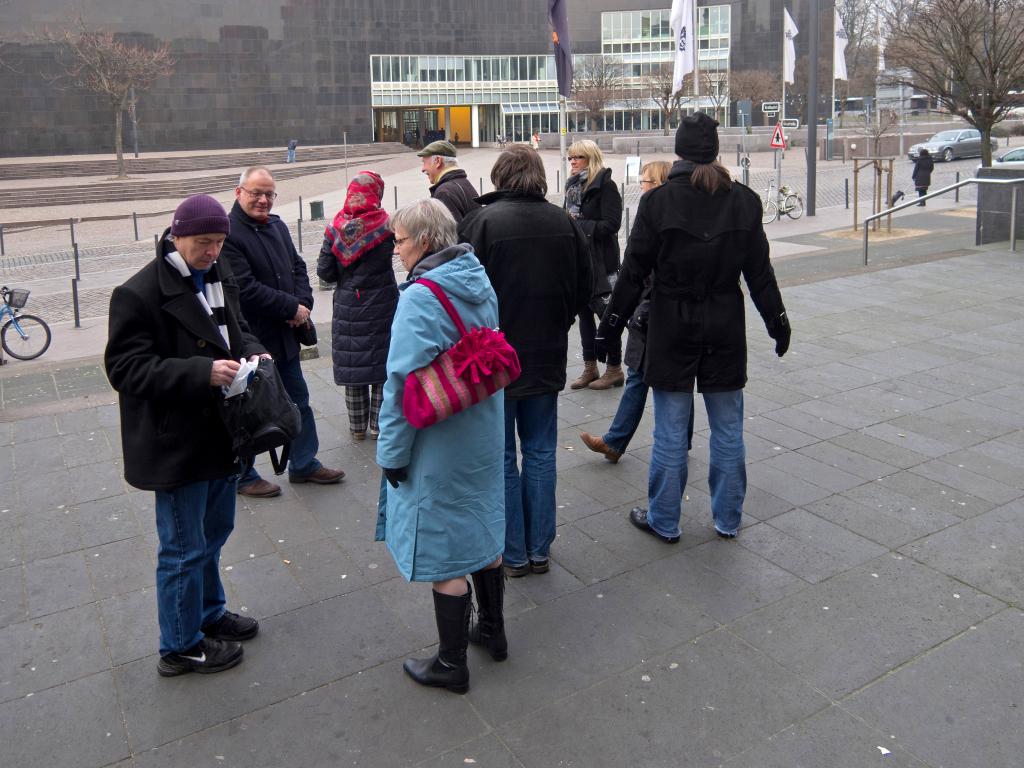 Treffpunkt zum Rundgang in der Kunstakademie Düsseldorf