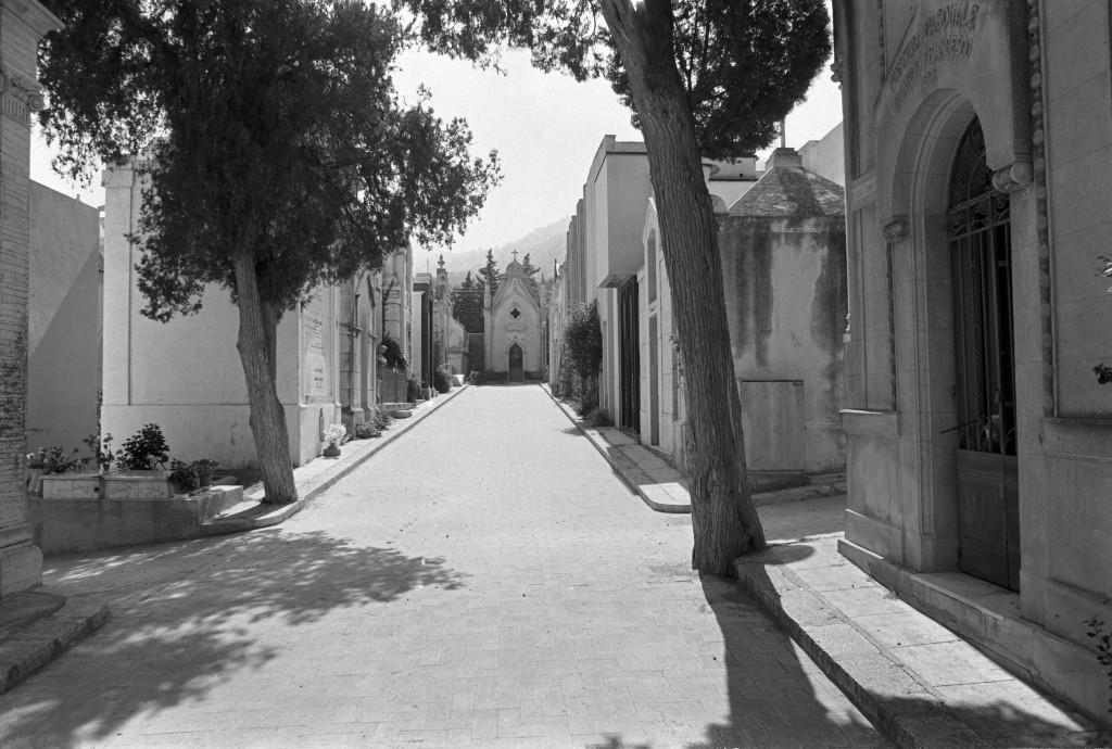 Friedhof in Cefalu, Sizilien