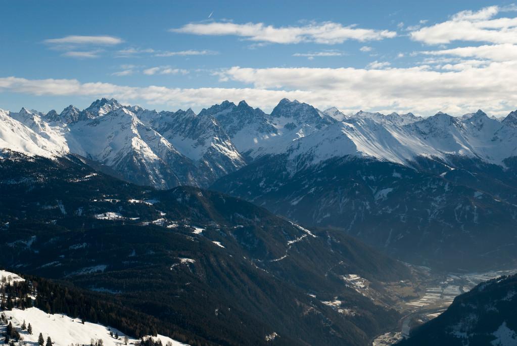 Blick vom Venetberg bei Landeck