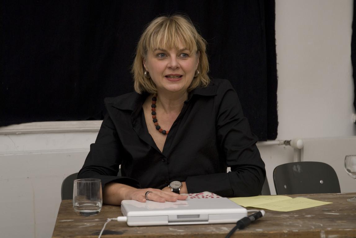 """Leonie Baumann, Vortrag """"Neue Ansätze der Kunstvermittlung: von Kunstcoop und anderen Experimenten"""", 2008"""