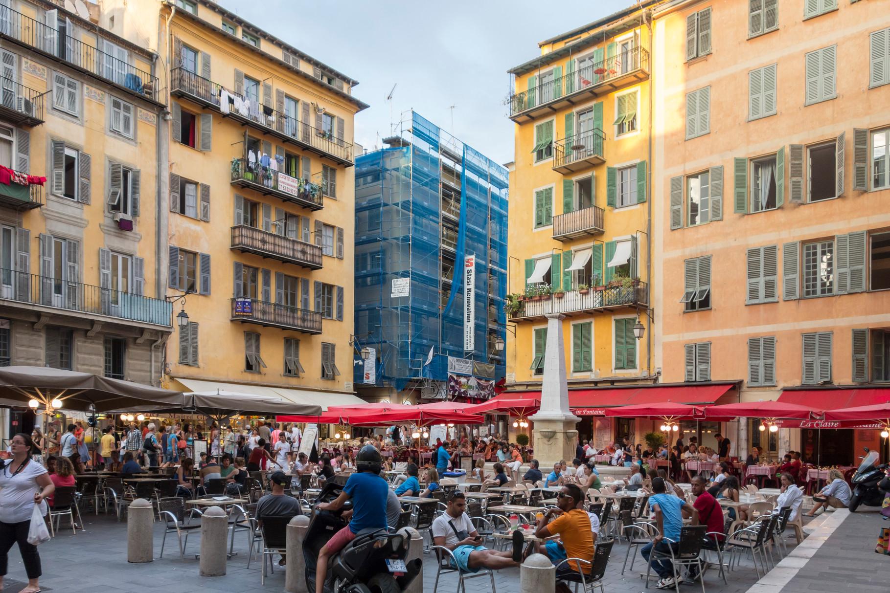 Place Rosetti im Zentrum der Altstadt