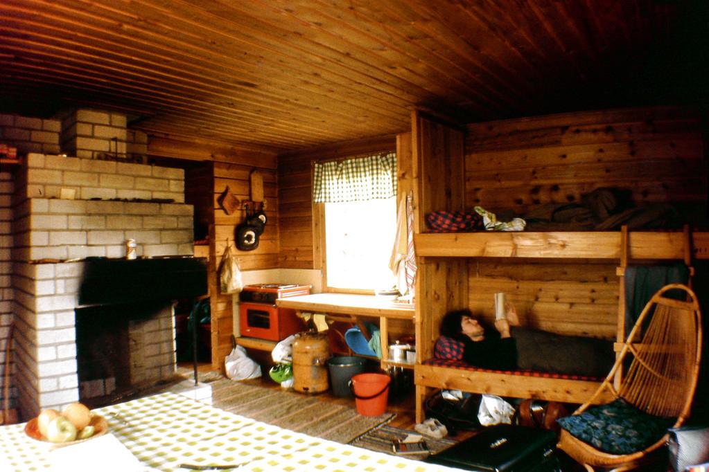 Das Innere unserer Hütte