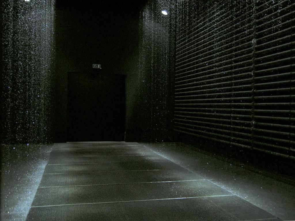 Olafur Eliasson: Reflektierender Korridor - Entwurf zum Stoppen des freien Falls
