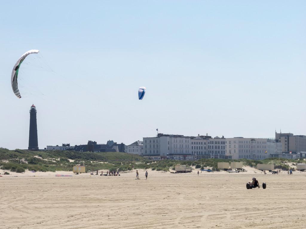 Kitebuggie-Strand