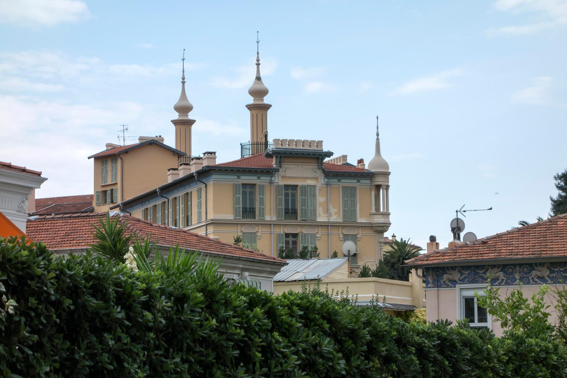 Gebäude am Boulevard de Cimiez