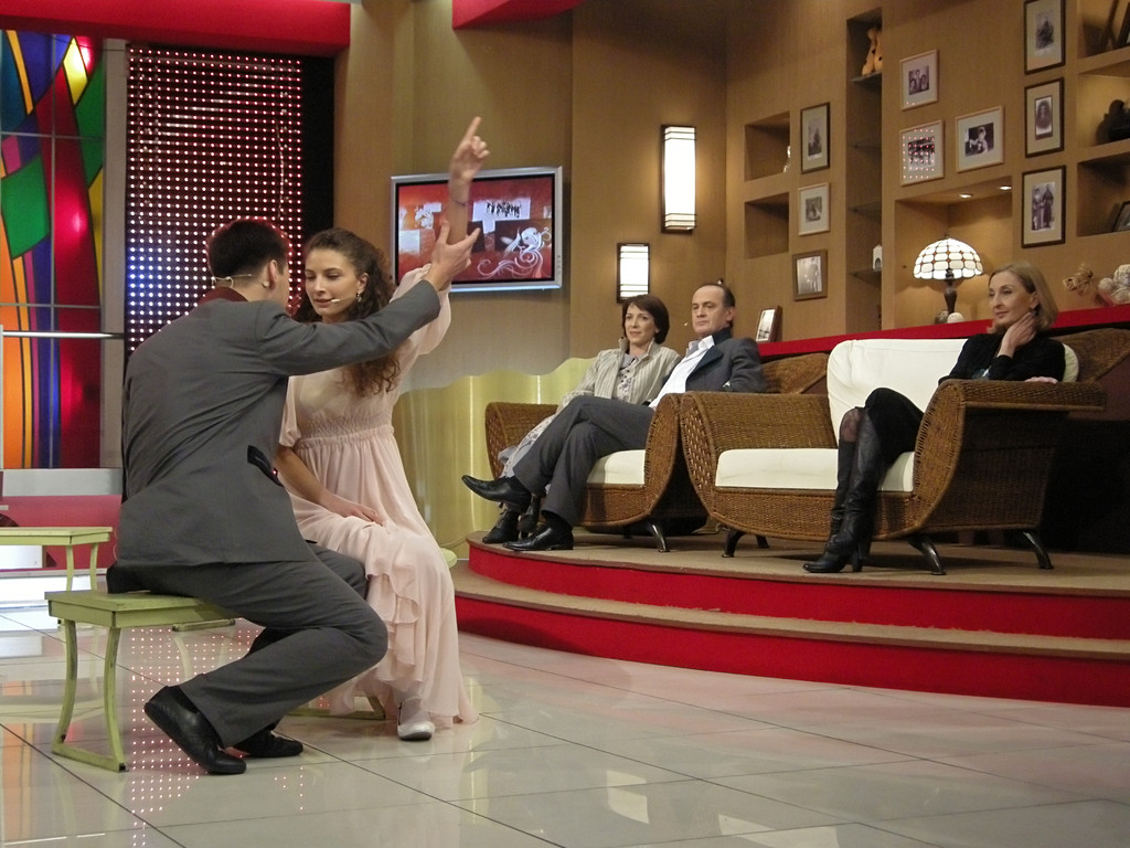 Fernsehstudiio in Tiflis