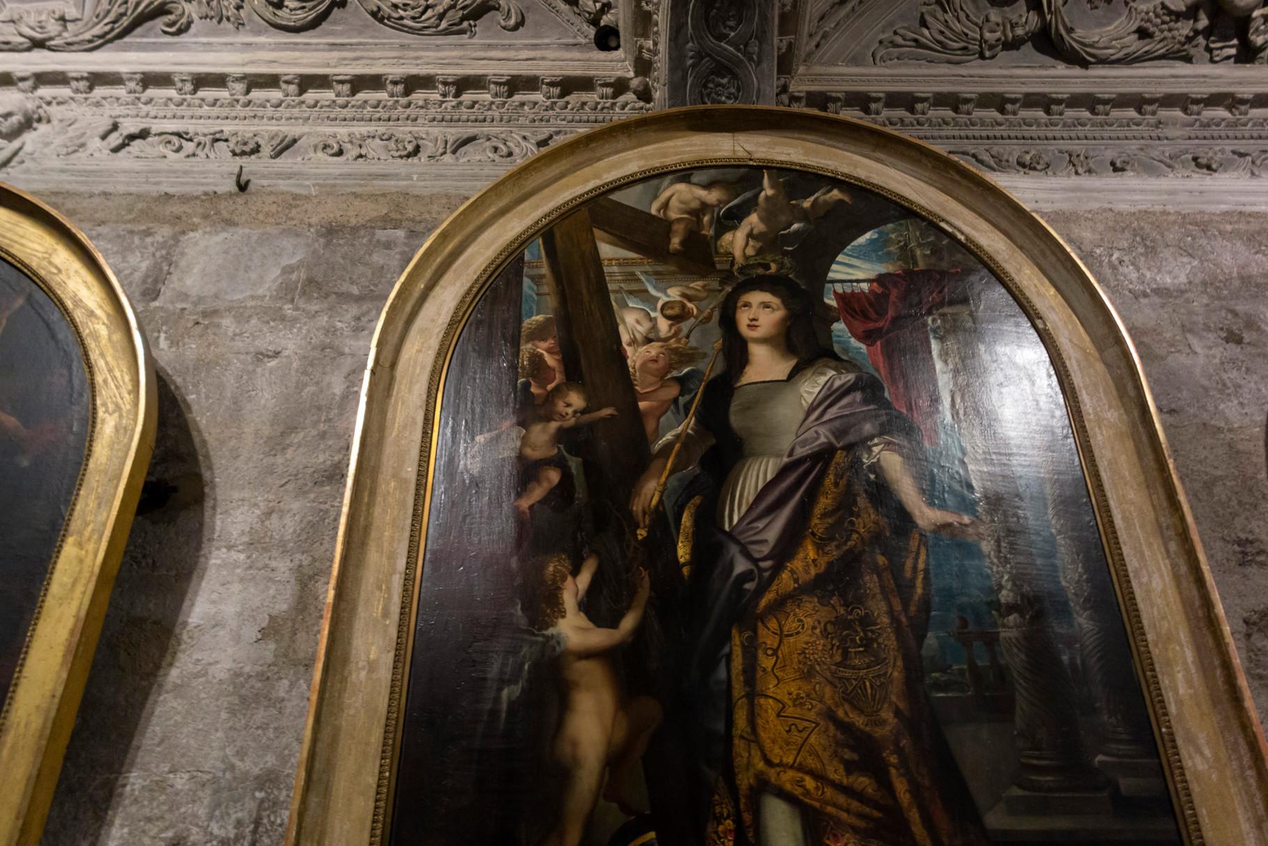 Gemälde von Rubens in der Kathedrale