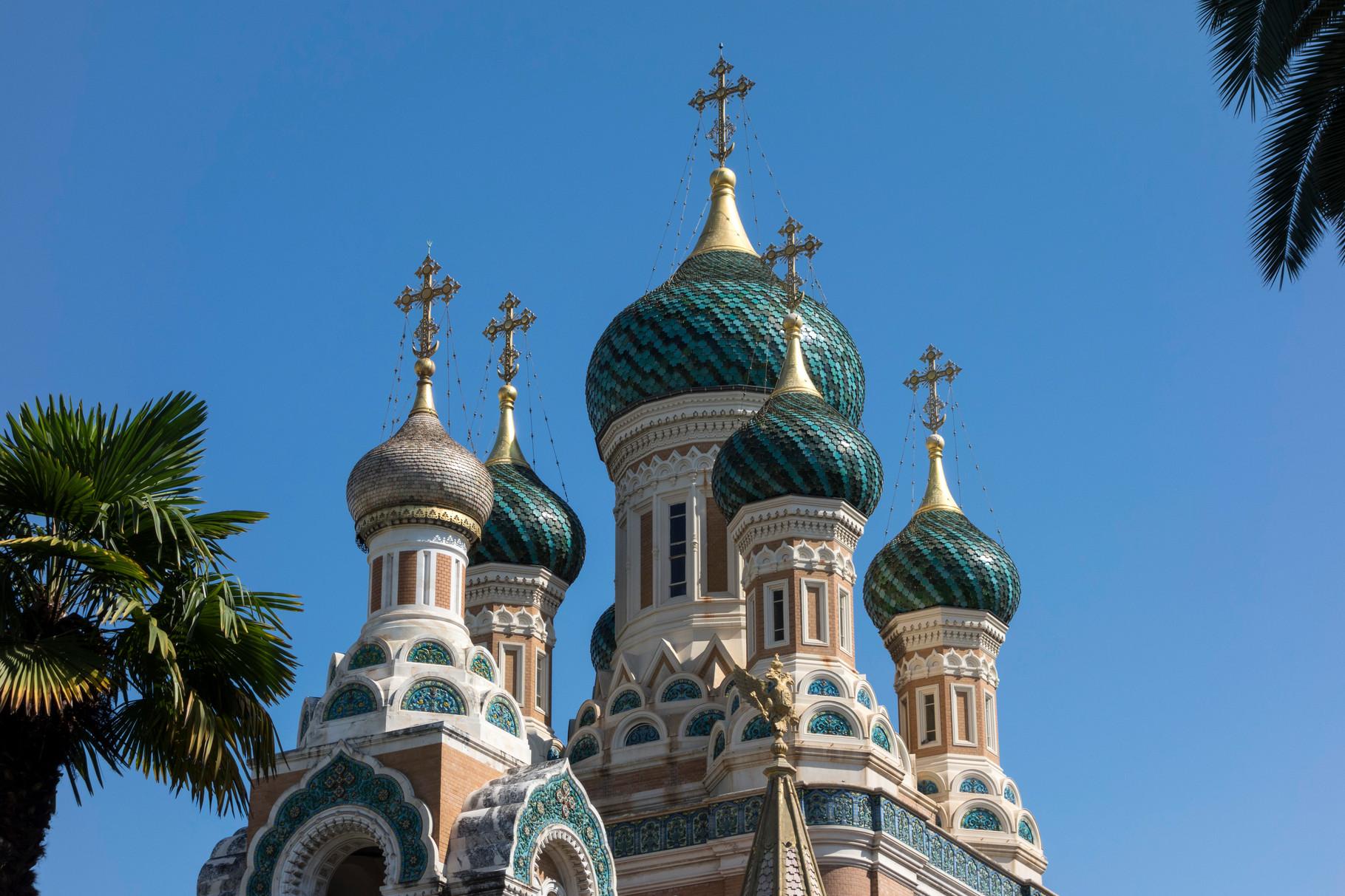 Cathédrale Saint-Nicolas, größte russische Kirche außerhalb Russlands