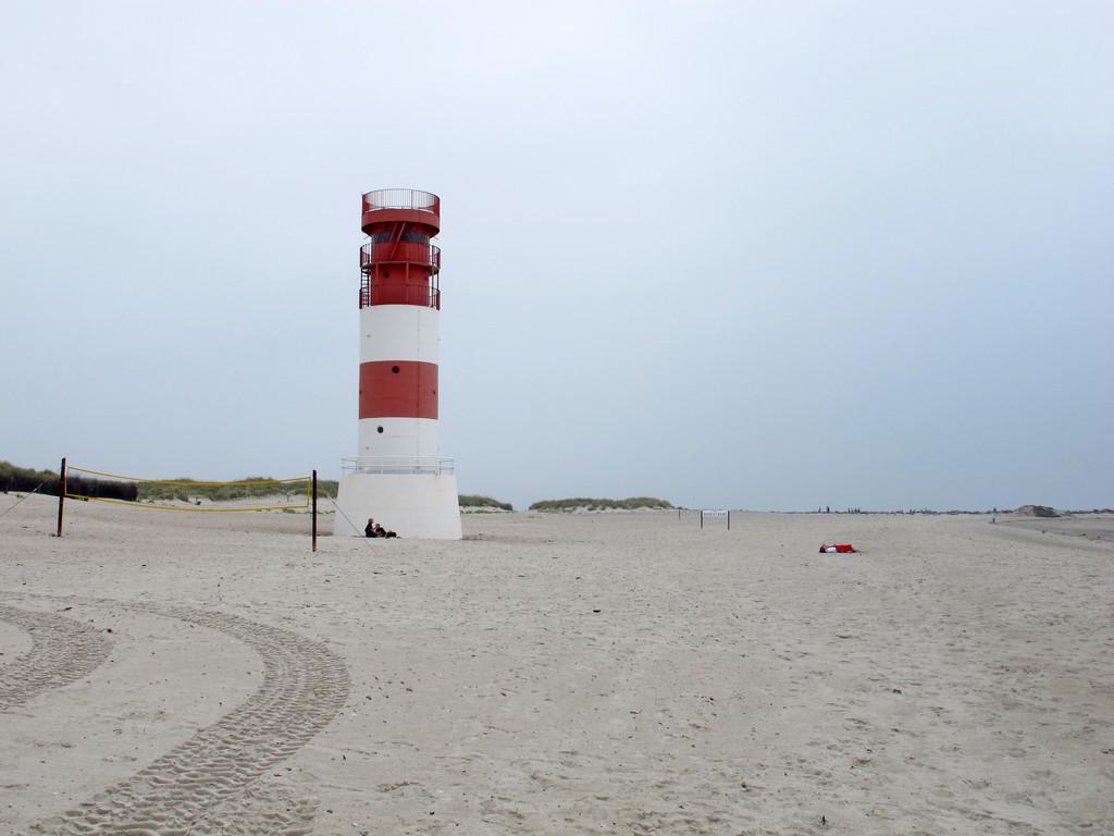 Leuchtturm am Badestrand