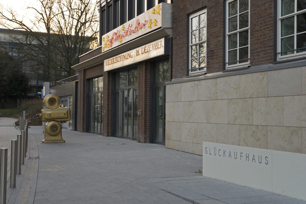 Kurz vor der Eröffnung, Dezember 2009