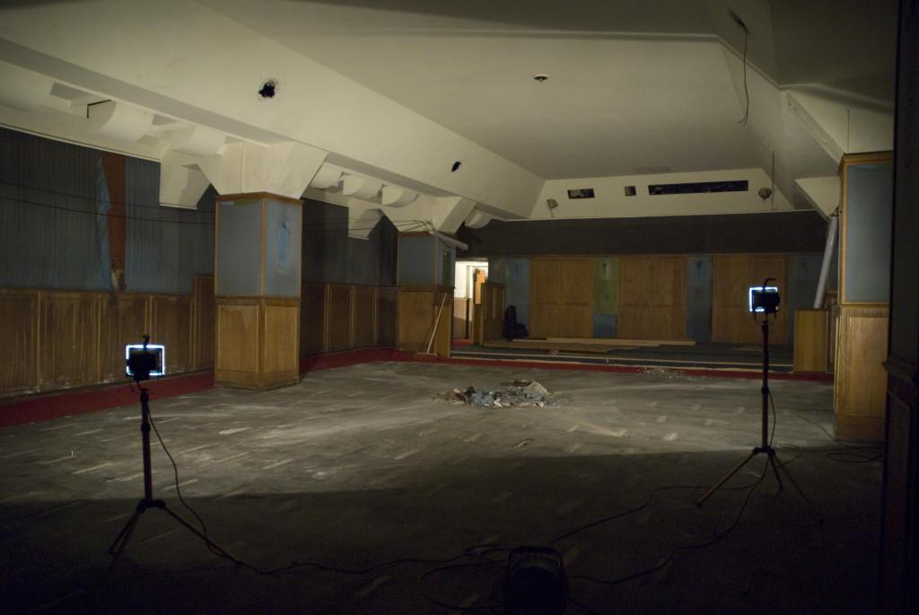 Kinosaal, August 2007