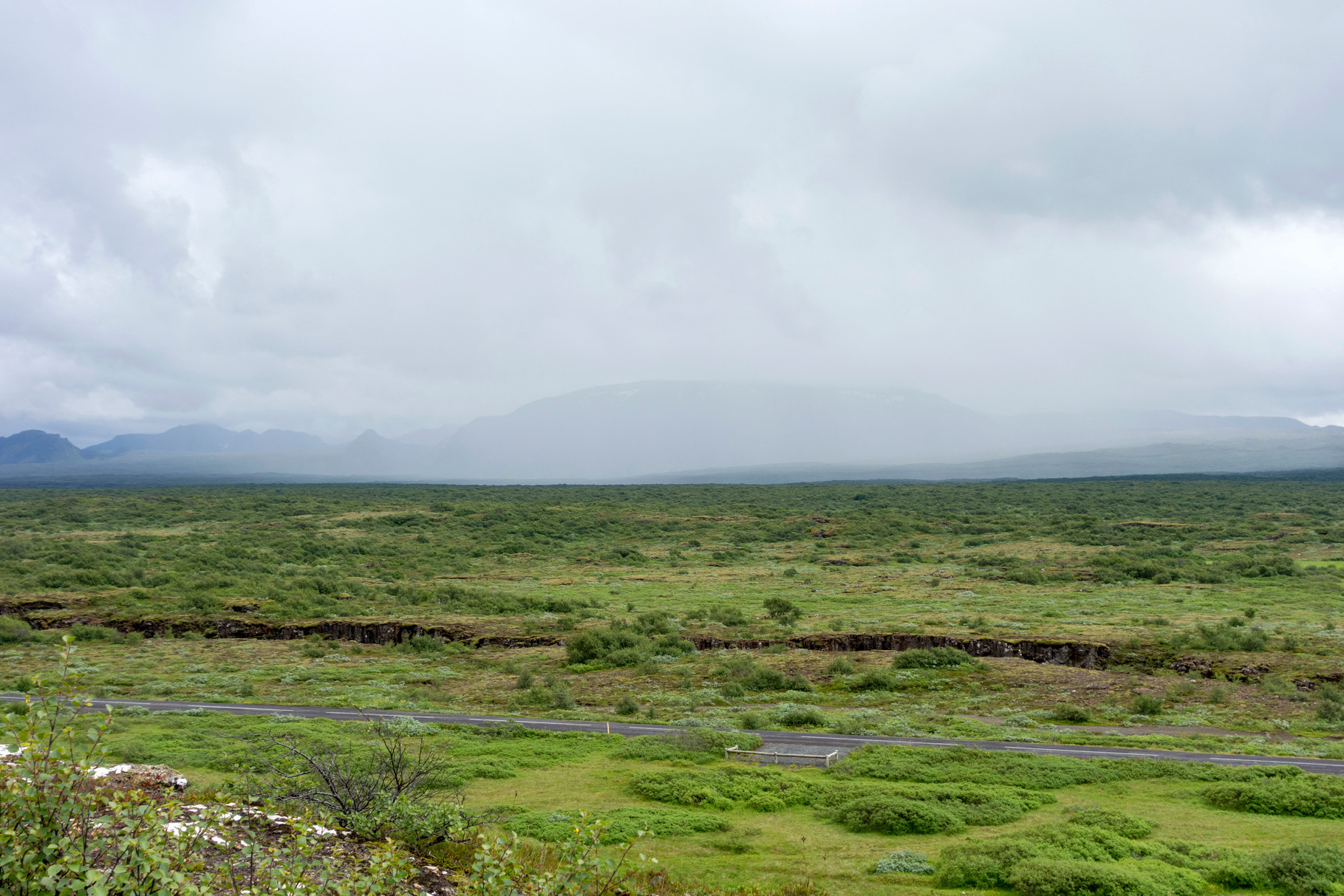 Blick in den Þingvellir-Nationalpark
