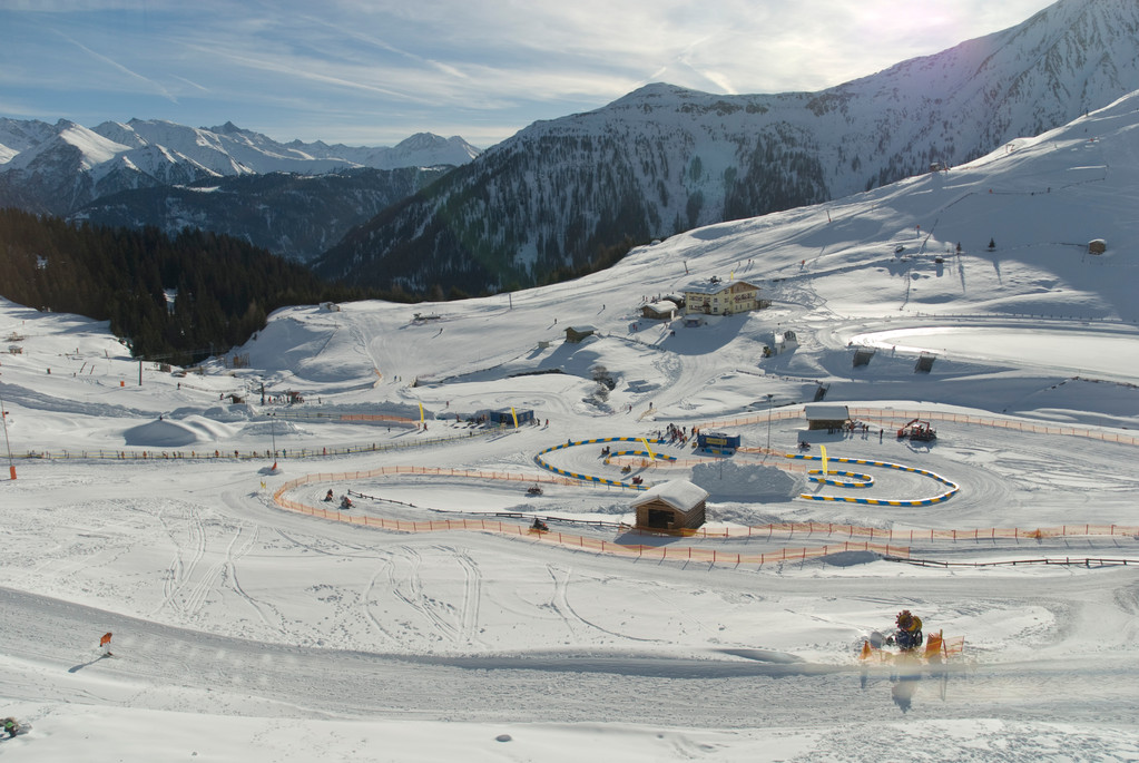 Skigebiet bei Serfaus
