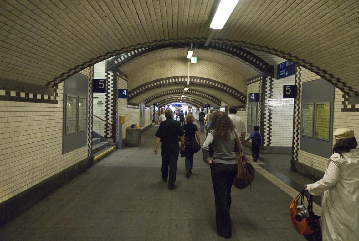 Der Bahnhof in Mönchengladbach