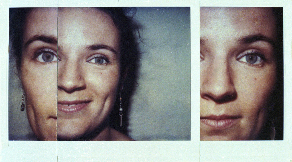 Polaroidcollage Beate, 1987