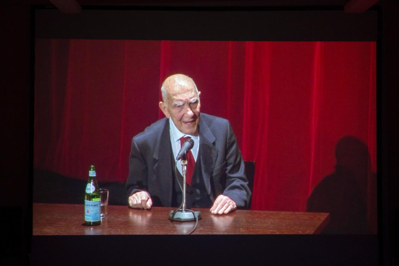 Erwin Wiemer: kurze Ausschnitte aus einem Stéphane Hessel-Vortrag in der Lichtburg