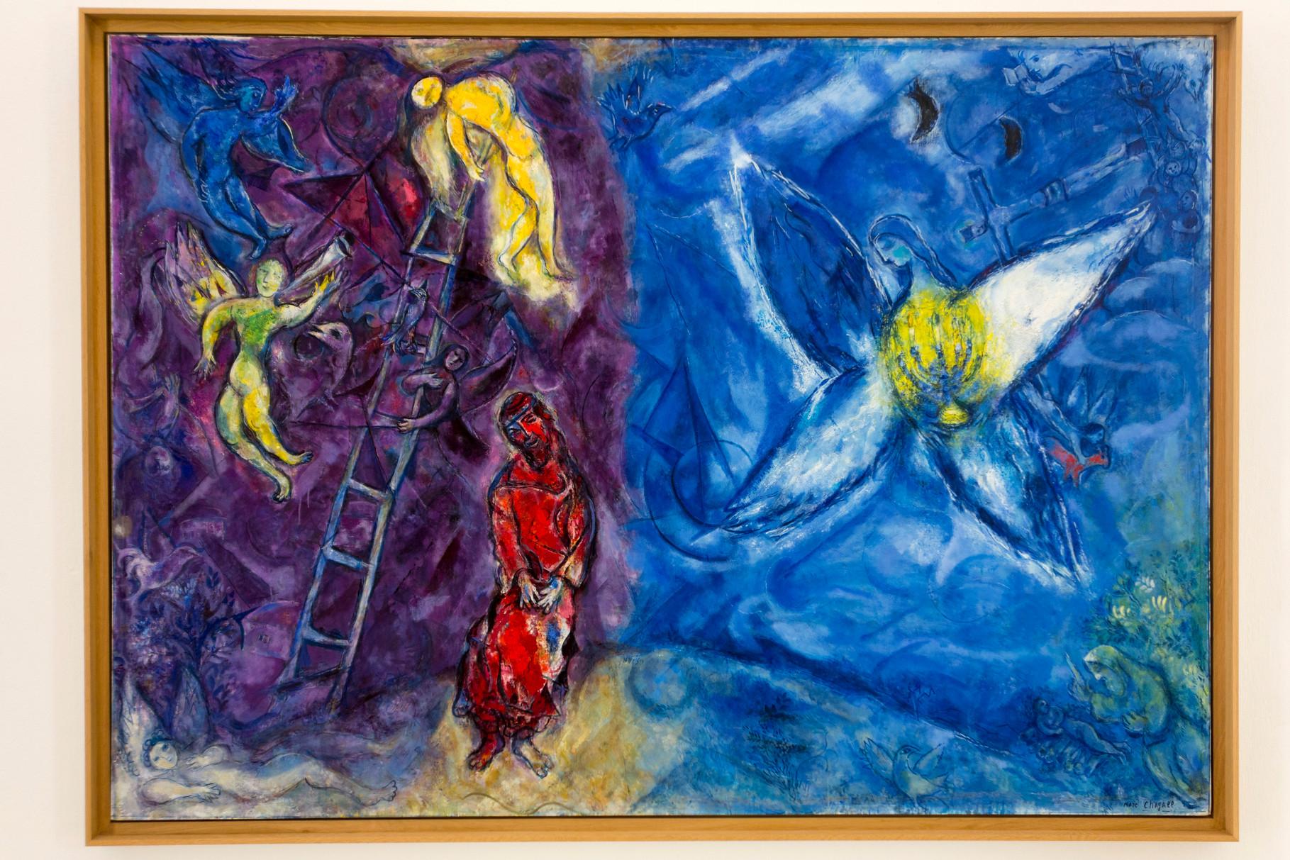 Jakobs Traum 1960-1966, Öl auf Leinwand, 195 x 278 cm