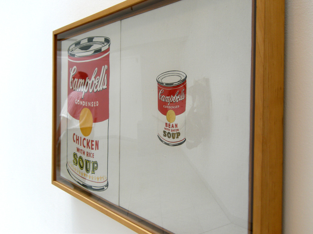 Andy warho, Cambell´s Soup, 1962