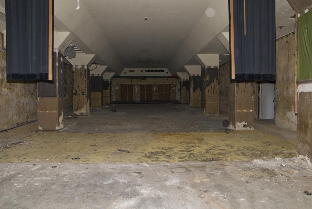 Kinosaal nach Ausbau der Inneneinrichtung, November 2007