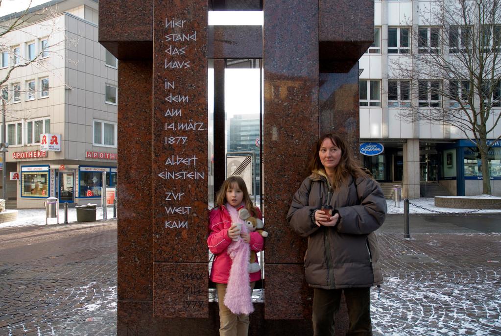 Ulm - Geburtsort von Albert Einstein