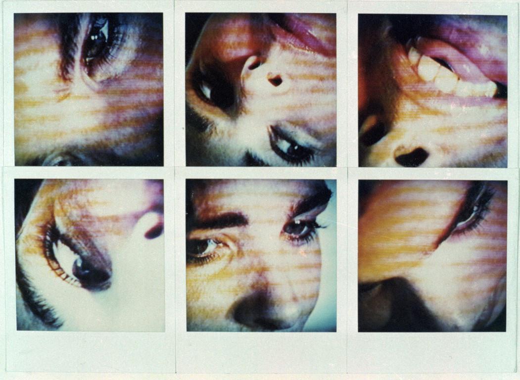 Polaroidtableau Roswitha, 1986