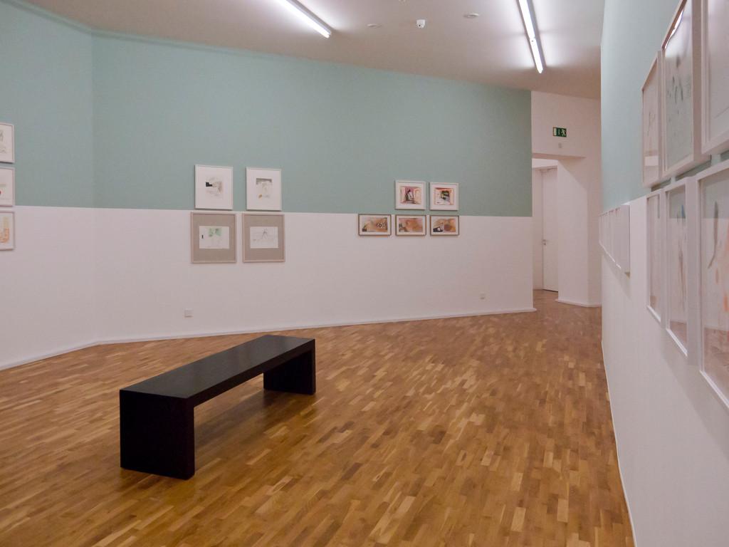 Blick in die Ausstellung, Anne-Mie van Kerckhoven