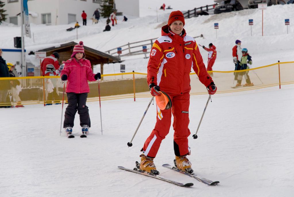 Skikurs mit meiner Tochter Julia