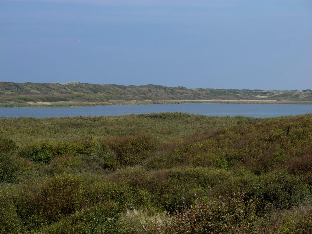 Der Hammersee, ein Süßwassersee auf der Insel